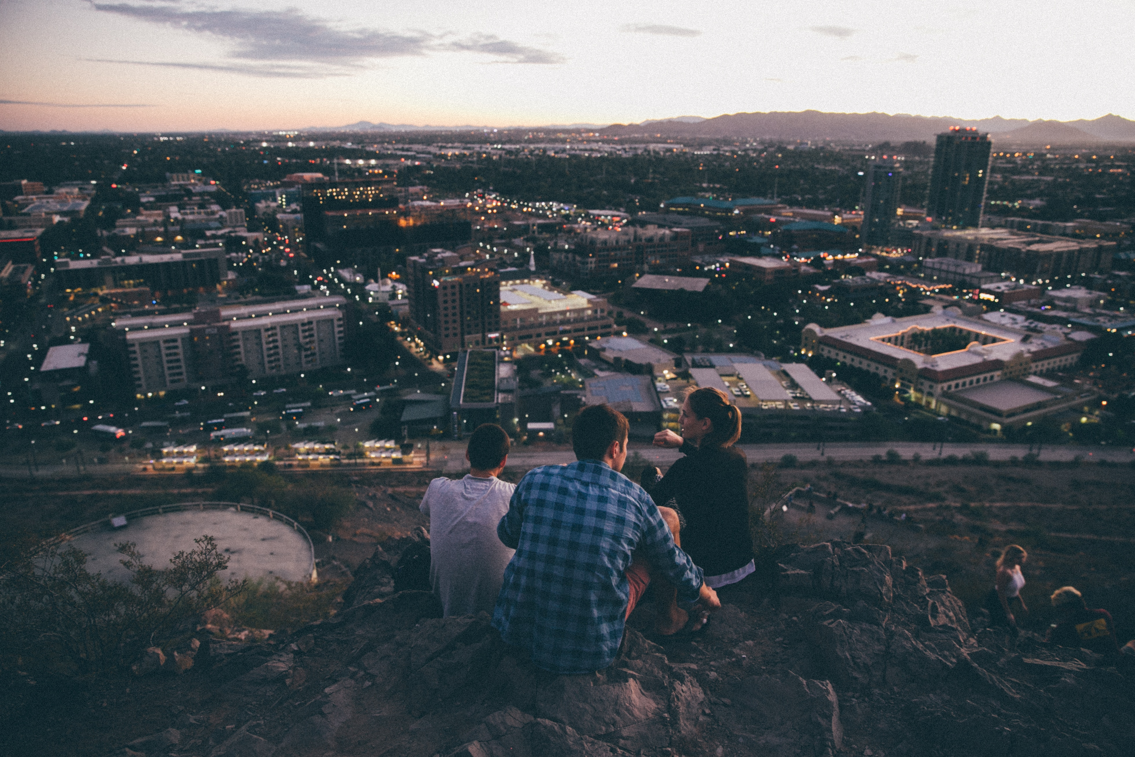 Tempe, Arizona ASU Mountain